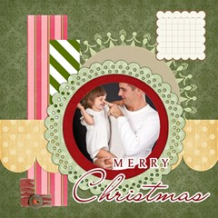 Christmas By Jo Jo   Scrapbook Page 12  X 12    B2ue2c4jvgnx   Www Artscow Com 12 x12 Scrapbook Page - 12