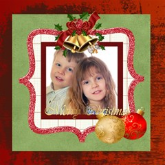 Christmas By Jo Jo   Scrapbook Page 12  X 12    B2ue2c4jvgnx   Www Artscow Com 12 x12 Scrapbook Page - 14