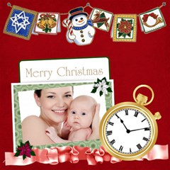 Christmas By Jo Jo   Scrapbook Page 12  X 12    B2ue2c4jvgnx   Www Artscow Com 12 x12 Scrapbook Page - 7