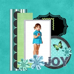 Christmas By Jo Jo   Scrapbook Page 12  X 12    B2ue2c4jvgnx   Www Artscow Com 12 x12 Scrapbook Page - 10