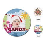 candy - Playing Cards (Round)