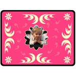Extra Large Pink Tree Blanket - Fleece Blanket (Large)