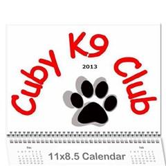 Cuby 2013 By Amanda   Wall Calendar 11  X 8 5  (12 Months)   V4viwbbnb9od   Www Artscow Com Cover