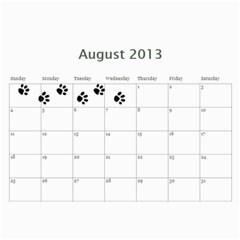 Cuby 2013 By Amanda   Wall Calendar 11  X 8 5  (12 Months)   V4viwbbnb9od   Www Artscow Com Aug 2013