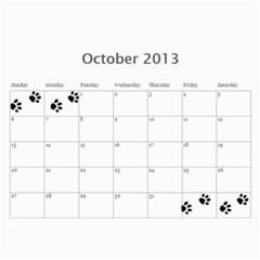 Cuby 2013 By Amanda   Wall Calendar 11  X 8 5  (12 Months)   V4viwbbnb9od   Www Artscow Com Oct 2013