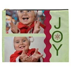 Christmas By Man   Cosmetic Bag (xxxl)   8ry4iex90hd0   Www Artscow Com Front