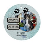 Dog Rememberance Ornament (1 Sided) - Ornament (Round)