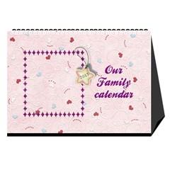 Our Family Desktop Calendar 2013 By Daniela   Desktop Calendar 8 5  X 6    0jujp5riwzxy   Www Artscow Com Cover