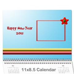 Happy New Year 2013   Calendar 12m By Daniela   Wall Calendar 11  X 8 5  (12 Months)   Xz560jaqq6tt   Www Artscow Com Cover