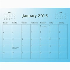 Happy New Year 2013   Calendar 12m By Daniela   Wall Calendar 11  X 8 5  (12 Months)   Xz560jaqq6tt   Www Artscow Com Jan 2015