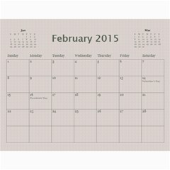 A Family Story Calendar 12m 2013 By Daniela   Wall Calendar 11  X 8 5  (12 Months)   Bzxufpasr1ow   Www Artscow Com Feb 2015