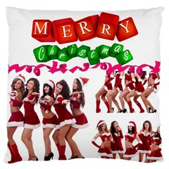 Christmas By Angena Jolin   Large Cushion Case (two Sides)   Yakwxb3sai95   Www Artscow Com Back