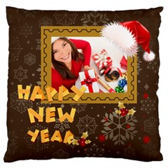 Christmas By Angena Jolin   Large Cushion Case (two Sides)   7s7fib2q6qk4   Www Artscow Com Back