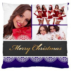 Christmas By Angena Jolin   Large Cushion Case (two Sides)   Xq4mbdfabdib   Www Artscow Com Back