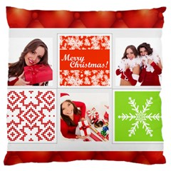 Christmas By Angena Jolin   Large Cushion Case (two Sides)   Nmo1fzj8uba9   Www Artscow Com Front
