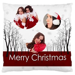 Christmas By Angena Jolin   Large Cushion Case (two Sides)   Otn996zs7gzq   Www Artscow Com Back