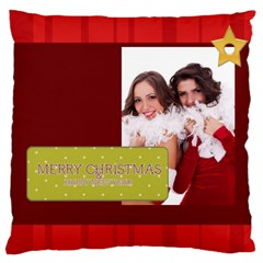 Christmas By Angena Jolin   Large Cushion Case (two Sides)   F9us0x1npw2y   Www Artscow Com Front