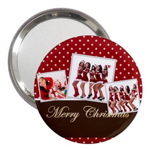 Christmas By Angena Jolin   3  Handbag Mirror   Wdv6owinrmr5   Www Artscow Com Front
