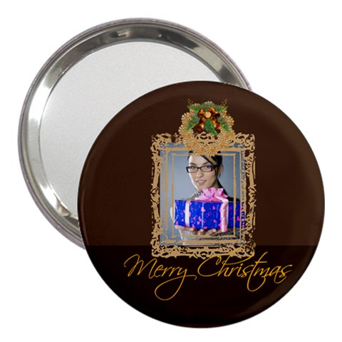 Christmas By Angena Jolin   3  Handbag Mirror   Xphm78njmipx   Www Artscow Com Front