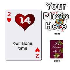 Cards By Allison Buice   Playing Cards 54 Designs   Ckz5sxgmo7pl   Www Artscow Com Front - Heart2