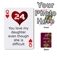 Queen Cards By Allison Buice   Playing Cards 54 Designs   Ckz5sxgmo7pl   Www Artscow Com Front - HeartQ