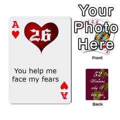 Ace Cards By Allison Buice   Playing Cards 54 Designs   Ckz5sxgmo7pl   Www Artscow Com Front - HeartA