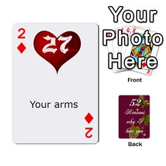 Cards By Allison Buice   Playing Cards 54 Designs   Ckz5sxgmo7pl   Www Artscow Com Front - Diamond2