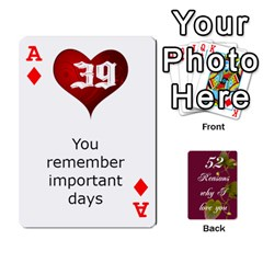 Ace Cards By Allison Buice   Playing Cards 54 Designs   Ckz5sxgmo7pl   Www Artscow Com Front - DiamondA