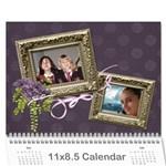 2016 Lavender Dream - Wall Calendar 11x8.5 (12mths) - Wall Calendar 11  x 8.5  (12-Months)