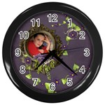 Lavender Dream - Wall Clock(Black)  - Wall Clock (Black)