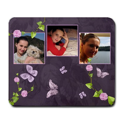 Lavender Dream   Collage Mousepad  By Picklestar Scraps   Collage Mousepad   Hvza7r650f8o   Www Artscow Com 9.25 x7.75 Mousepad - 1