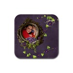 Lavender Dream - Rubber Square(4pack)  - Rubber Square Coaster (4 pack)