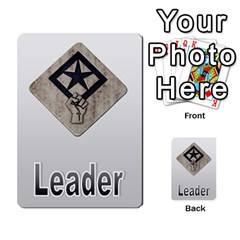 The Resistance: Loyalty By Don   Multi Purpose Cards (rectangle)   Kaimtsxewau6   Www Artscow Com Front 1