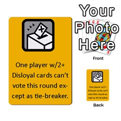 The Resistance: Loyalty By Don   Multi Purpose Cards (rectangle)   Kaimtsxewau6   Www Artscow Com Front 20