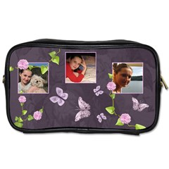 Lavender Dream   Toiletries Bag (two Sides)  By Picklestar Scraps   Toiletries Bag (two Sides)   W3hxh8lixzbw   Www Artscow Com Front