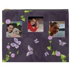 Lavender Dream   Cosmetic Bag (xxxl)  By Picklestar Scraps   Cosmetic Bag (xxxl)   03w305b1ebfl   Www Artscow Com Front