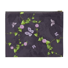 Lavender Dream   Cosmetic Bag (xl)  By Picklestar Scraps   Cosmetic Bag (xl)   Ddvb5bjkkr4f   Www Artscow Com Back