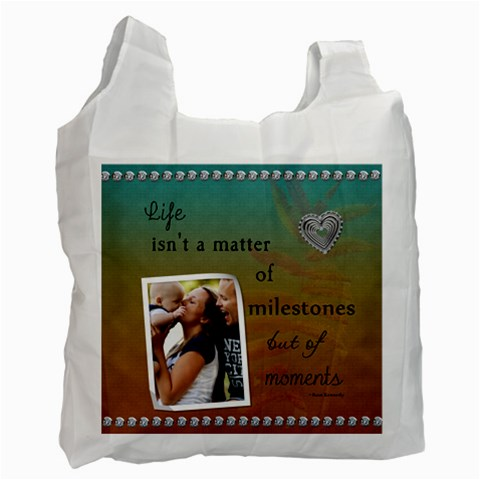 Life Recycle Bag (1 Sided) By Lil    Recycle Bag (one Side)   9cj0koz5p1lr   Www Artscow Com Front