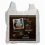 Love in the Heart Recycle bag (1 Sided) - Recycle Bag (One Side)