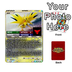 Queen Pokemon 108 151 Extras New By Seth   Playing Cards 54 Designs   U7nx7jmpxk6f   Www Artscow Com Front - SpadeQ