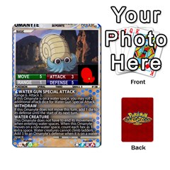 Pokemon 108 151 Extras New By Seth   Playing Cards 54 Designs   U7nx7jmpxk6f   Www Artscow Com Front - Heart8