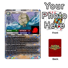 Pokemon 108 151 Extras New By Seth   Playing Cards 54 Designs   U7nx7jmpxk6f   Www Artscow Com Front - Heart9