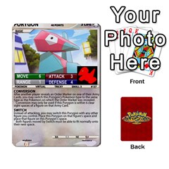 Jack Pokemon 108 151 Extras New By Seth   Playing Cards 54 Designs   U7nx7jmpxk6f   Www Artscow Com Front - HeartJ