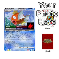 Pokemon 108 151 Extras New By Seth   Playing Cards 54 Designs   U7nx7jmpxk6f   Www Artscow Com Front - Diamond6