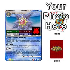 Ace Pokemon 108 151 Extras New By Seth   Playing Cards 54 Designs   U7nx7jmpxk6f   Www Artscow Com Front - DiamondA