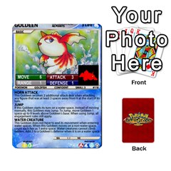 Pokemon 108 151 Extras New By Seth   Playing Cards 54 Designs   U7nx7jmpxk6f   Www Artscow Com Front - Club5
