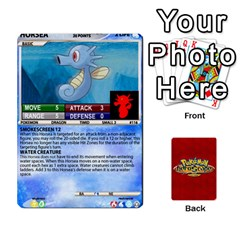 Pokemon 108 151 Extras New By Seth   Playing Cards 54 Designs   U7nx7jmpxk6f   Www Artscow Com Front - Club6