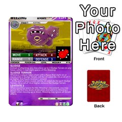Jack Pokemon 108 151 Extras New By Seth   Playing Cards 54 Designs   U7nx7jmpxk6f   Www Artscow Com Front - ClubJ
