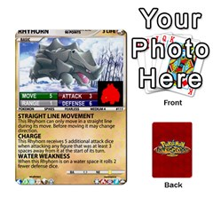 Queen Pokemon 108 151 Extras New By Seth   Playing Cards 54 Designs   U7nx7jmpxk6f   Www Artscow Com Front - ClubQ