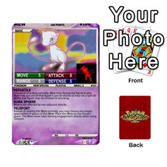 Pokemon 108 151 Extras New By Seth   Playing Cards 54 Designs   U7nx7jmpxk6f   Www Artscow Com Front - Spade10